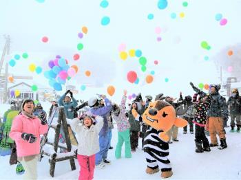 【小学生半額★冬のファミリー応援】お子様大満足♪ソリで楽しい雪遊び!キッズパーク入園券付/バイキング2食付