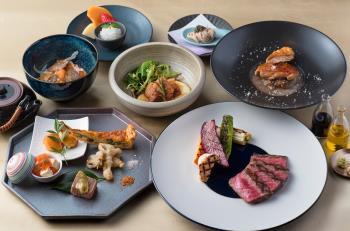 2食&駐車場チケット付!贅沢コース料理&プレミアムフロアで上質ステイ『各1室限定』