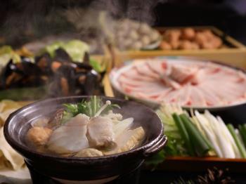 <早期予約40>【味なまつり・冬】冬の味覚盛りだくさん!和洋中ミックスのお好み一人鍋など/グランシャリオ