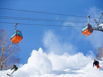 【札幌国際スキー場リフト1日券付き】ゲレンデを満喫した後は定山渓の名湯でのんびり/グランシャリオ