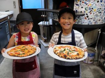 【楽しいキッズ体験】オリジナルピザ作り体験で夏の思い出作りプラン