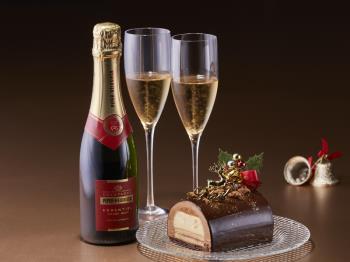 ≪土日祝限定≫【聖夜の素敵な想い出を…】恋するふたりのクリスマスケーキプラン(朝食・パスポート・特典付)