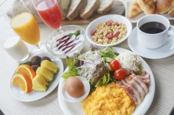 【天然温泉付】朝食バイキング付プラン(朝食付)