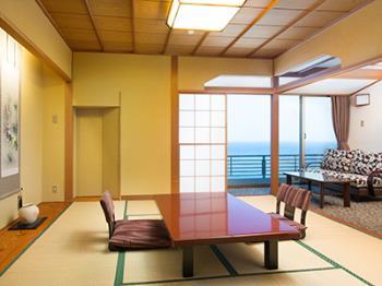 【室数限定】プレミアムサマー☆客室グレードアップ無料&シェフ自慢の特別メニューで伊勢海老・金目鯛・鮑を堪能