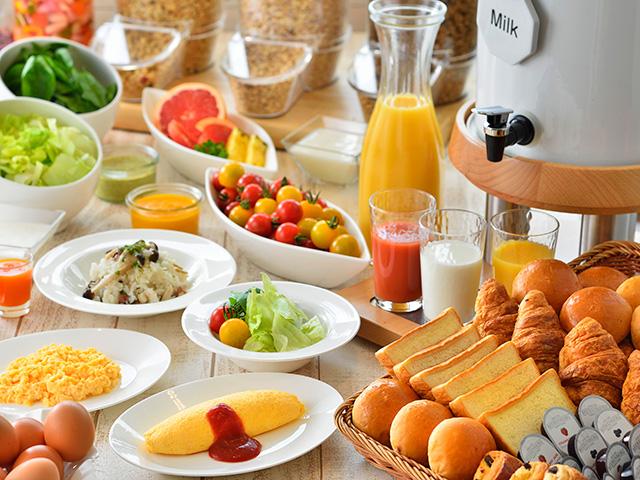 朝食バイキング(洋食イメージ)