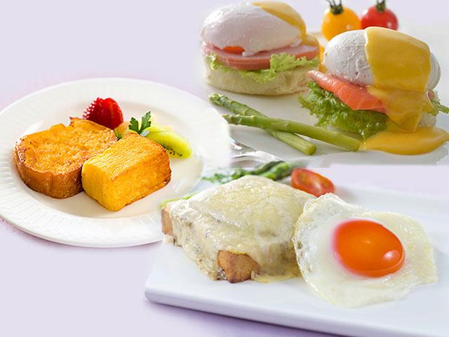大好評の選べる卵料理が1月からリニューアル☆