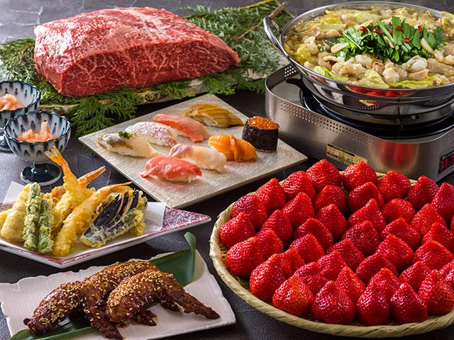 春の福岡・長崎の味覚和食ディナーバイキング