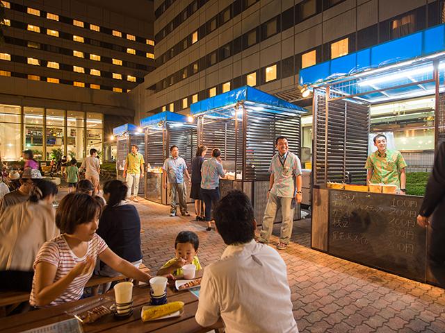 楽しいイベント盛りだくさん!サンルートプラザ東京夏祭り