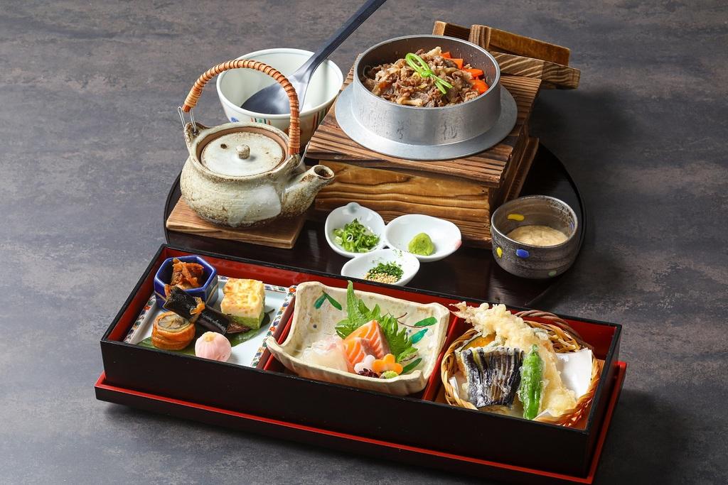 神戸牛釜飯プラン