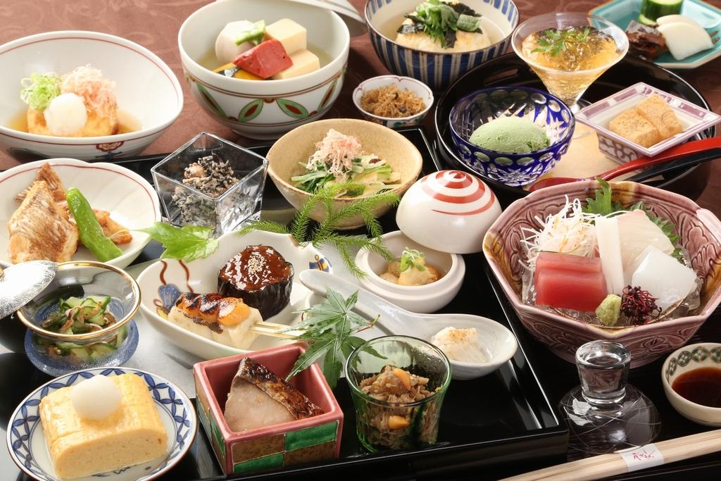 京おばんざい会席ご夕食一例(時候・仕入状況により内容は変わります)