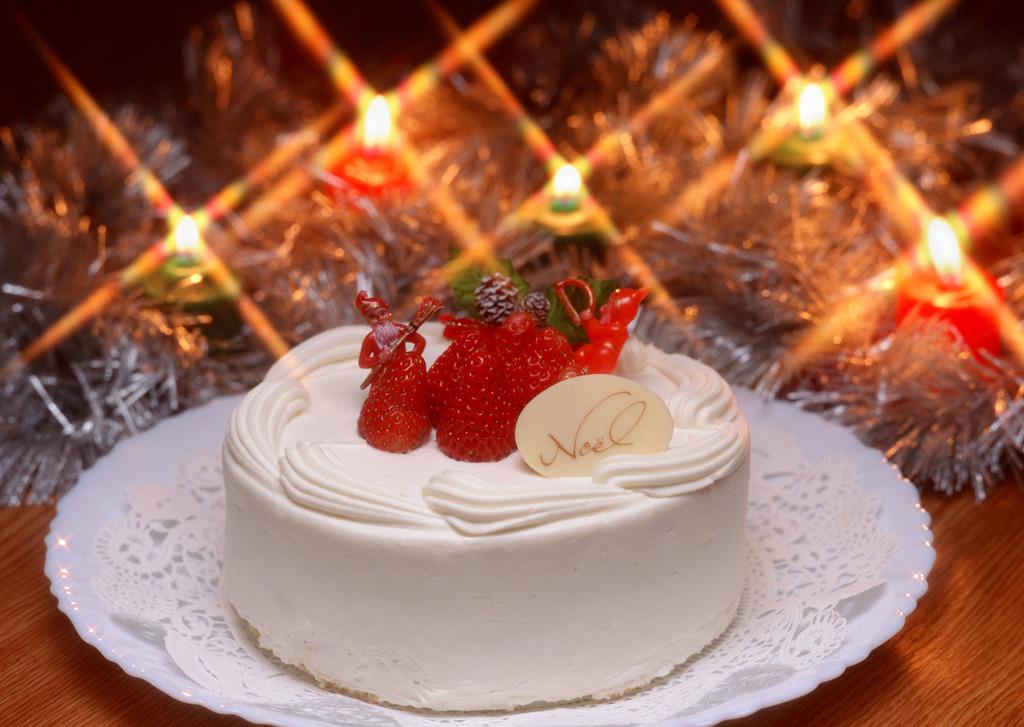 ファミリークリスマスプランで楽しい休日を!(イメージ。実際のケーキとは異なります)