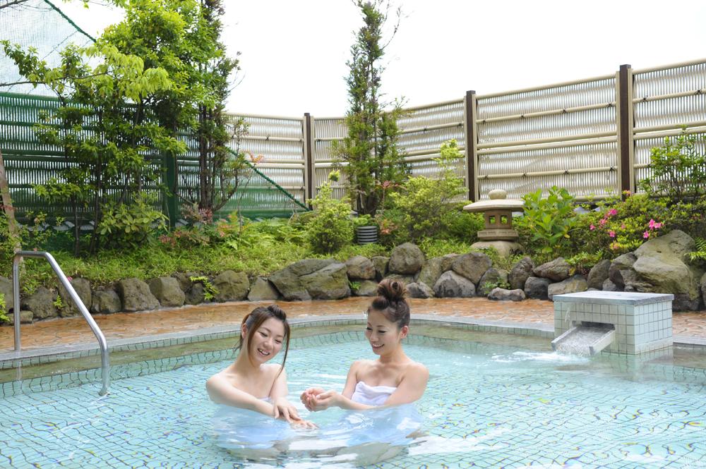 天然温泉でゆったり★お天気の日には富士山が見えるかも?