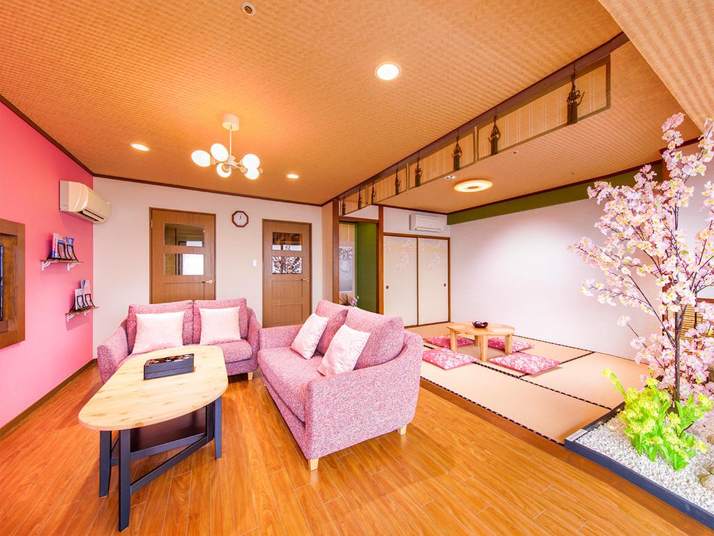2018年11月オープン!三浦海岸の河津桜をモチーフにした桜のお部屋!