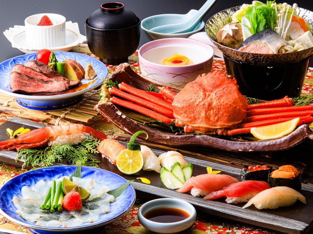寿司会席プランで三崎マグロの握りの旬の味覚を召し上がれ!(4/15〜6/30メニュー一例・イメージ)