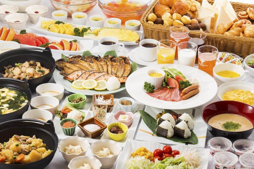 1泊朝食付きが税込8140円から!(写真はイメージです。実際の盛り付けと異なります)