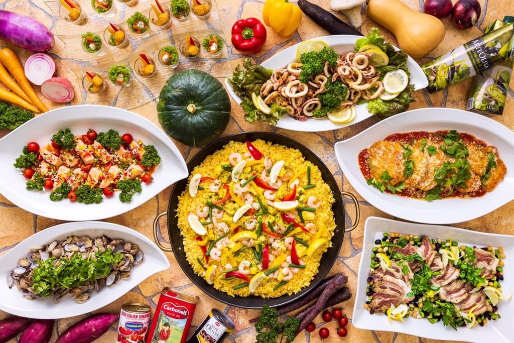 ディナーバイキング「南欧フェア」イメージ(11月11日まで)和食御膳となる場合があります。
