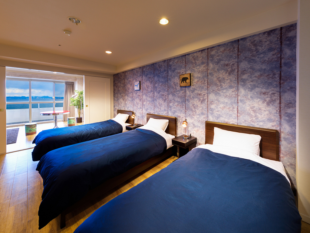One of the guest rooms - Bed room