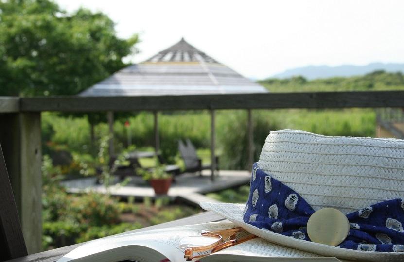 オーパ敷地内の富士見台からは、南房総の豊かな自然を観ることが出来ます