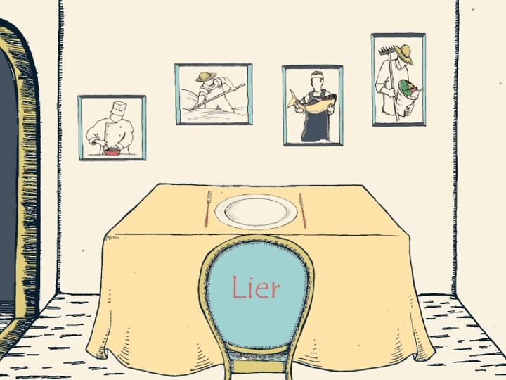 秋の美食ディナーのテーマは フランス語で「つなぐ」を意味する「Lier(リエ)」
