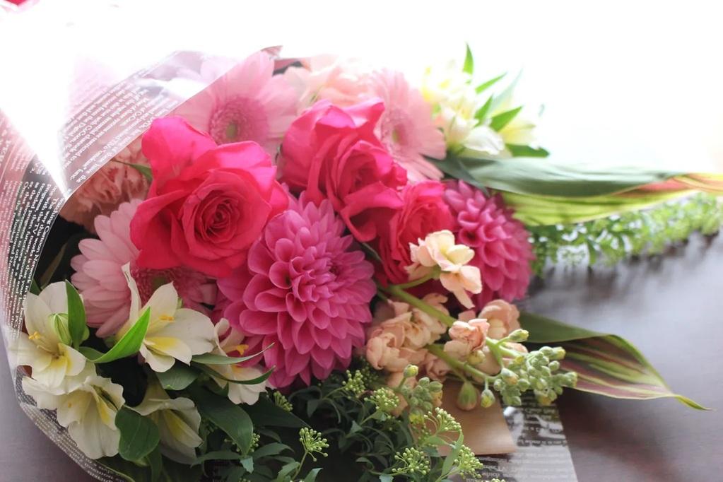 特別な日に大切な人へ花束を贈りませんか?