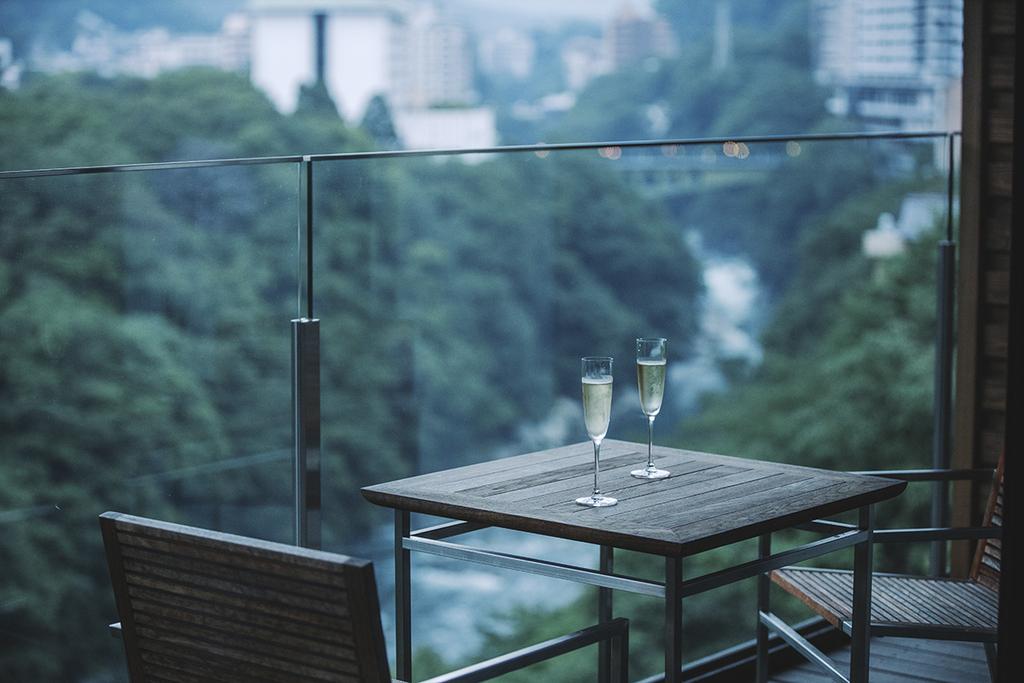 最上階から鬼怒川の渓谷美をご堪能頂けます