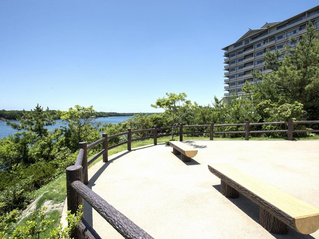 見晴らし休憩所からの英虞湾の風景