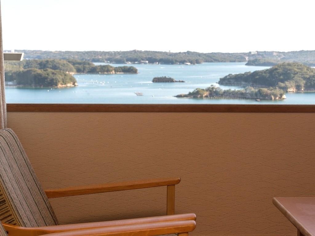 華陽棟客室からの景色一例