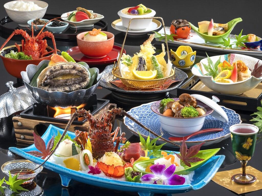 『しま会席』料理イメージ(2020年10月〜2021年3月)