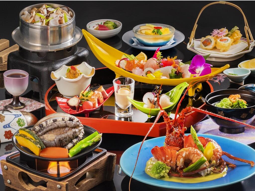 「リニューアル特別会席」料理イメージ