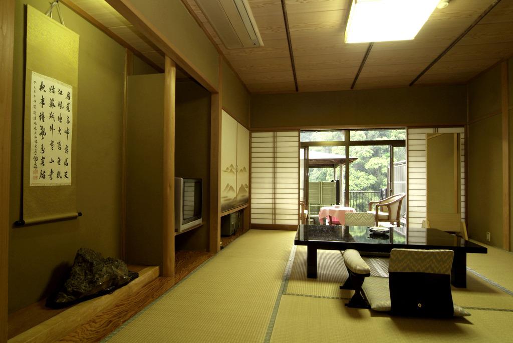 専用露天風呂付客室の一例