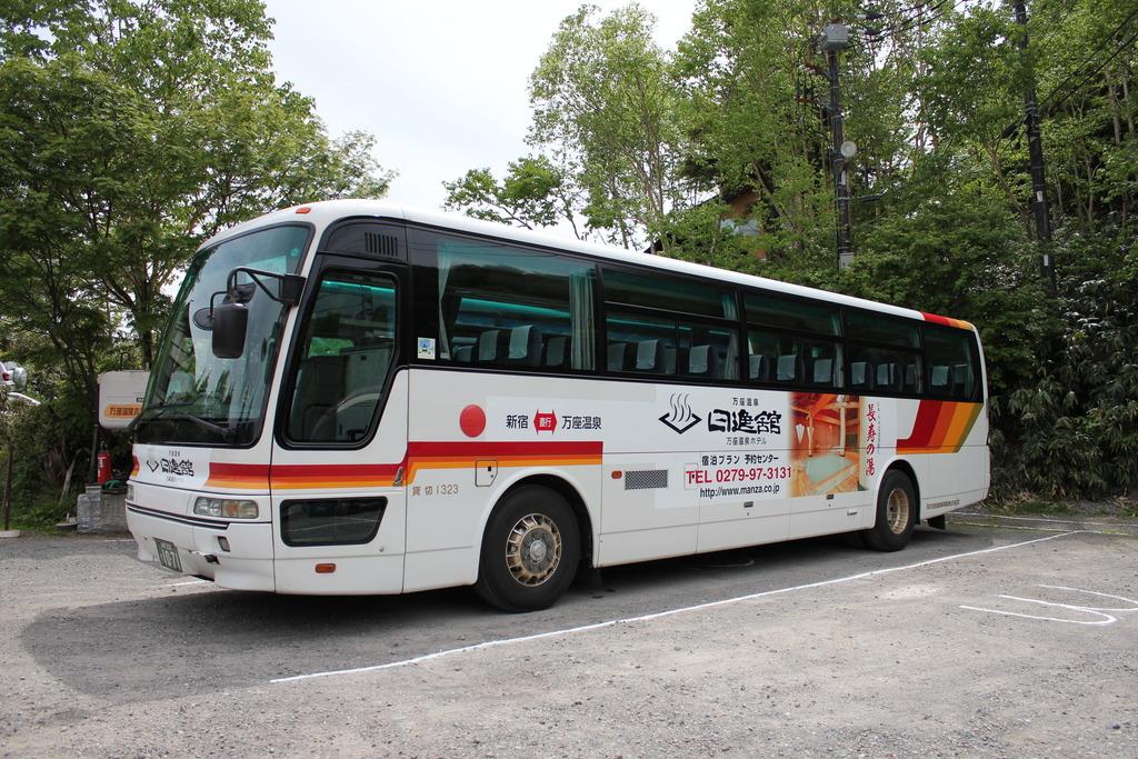 当館専用のバス