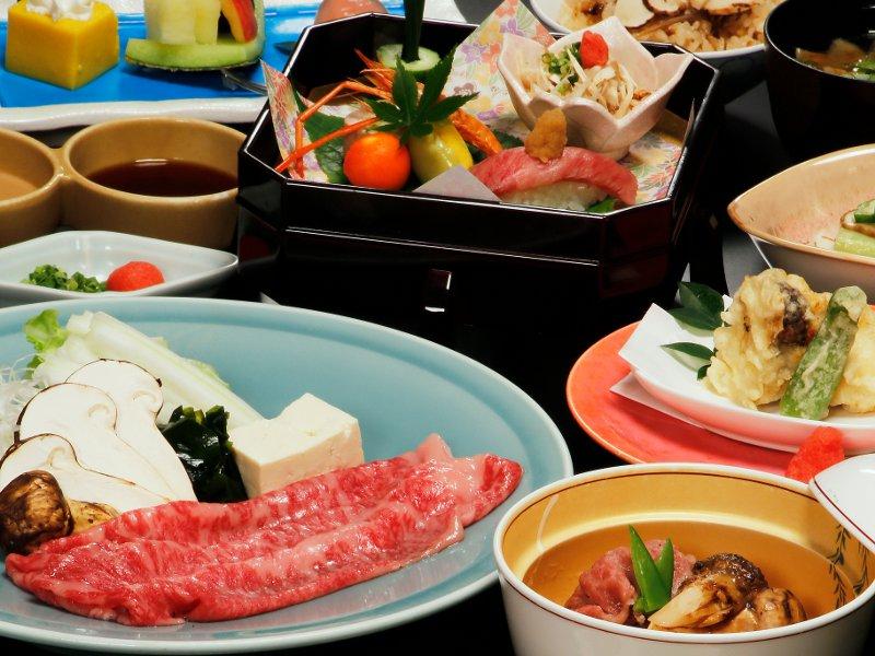 美味「とちぎ和牛と松茸のしゃぶしゃぶ」や「松茸ご飯」等、秋の味覚満彩