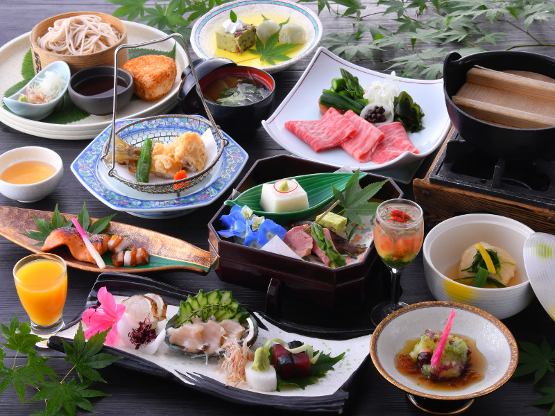 「とちぎ和牛しゃぶしゃぶ」と共に美味しい旬を贅沢に味わう◆湯西川平家懐石プラン