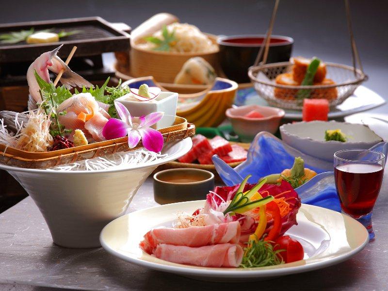【湯西川平家懐石】彩り豊かな旬の味覚をご堪能いただけるご夕食