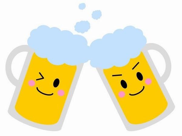 頑張った一日のご褒美ビール♪