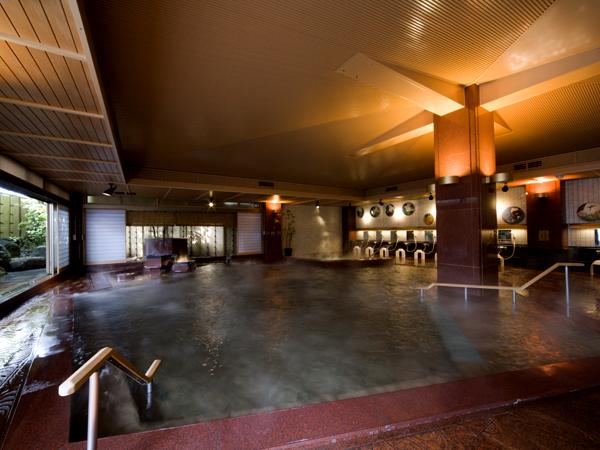 大浴場「九谷の湯処」内湯