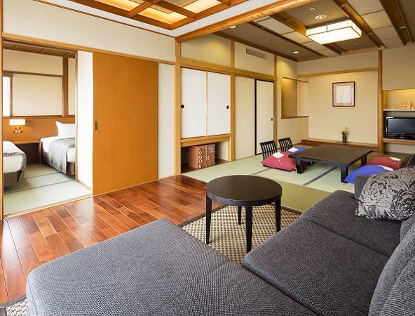 白雲本館ベッドルーム付客室