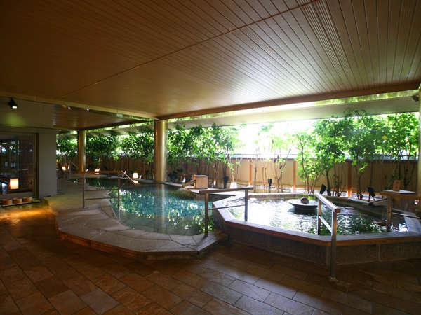大浴場「悠幻の湯殿」