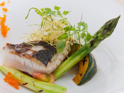 見ても食べても華やかお魚料理(一例)