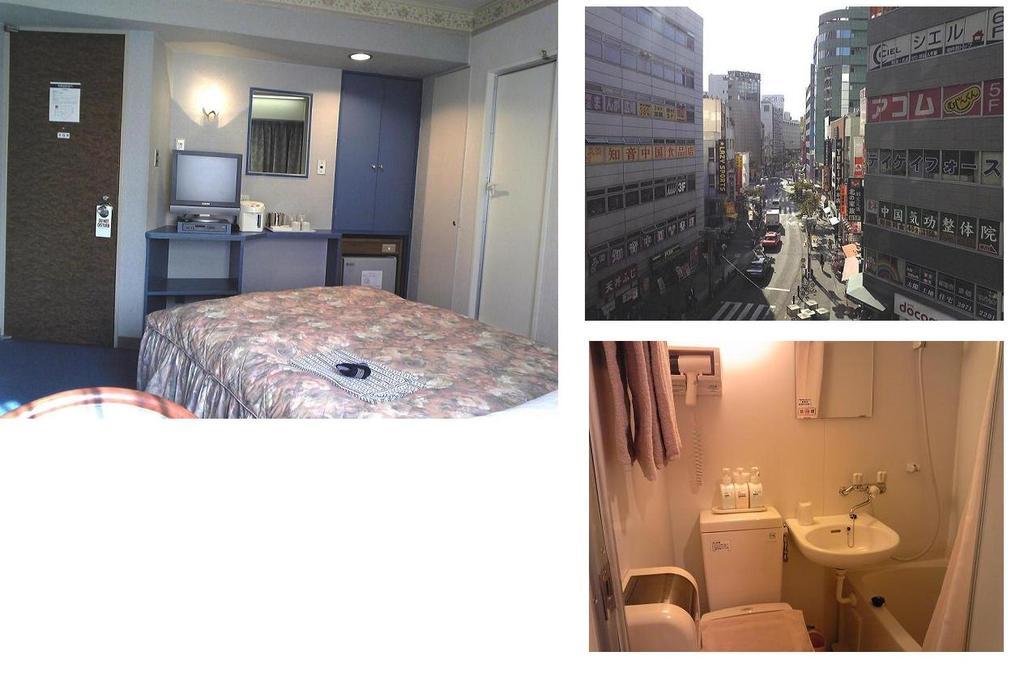 お部屋の一例:デラックスシングル 繁華街ビュー