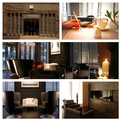 ホテルコンセプトを集約・洗練されたロビーフロア。