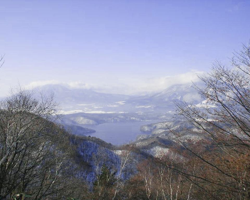 晴れると野尻湖もきれいに見えます!