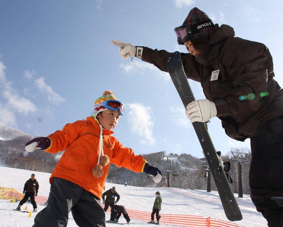 4才からのスキースクール☆ 春はデビューに最適♪