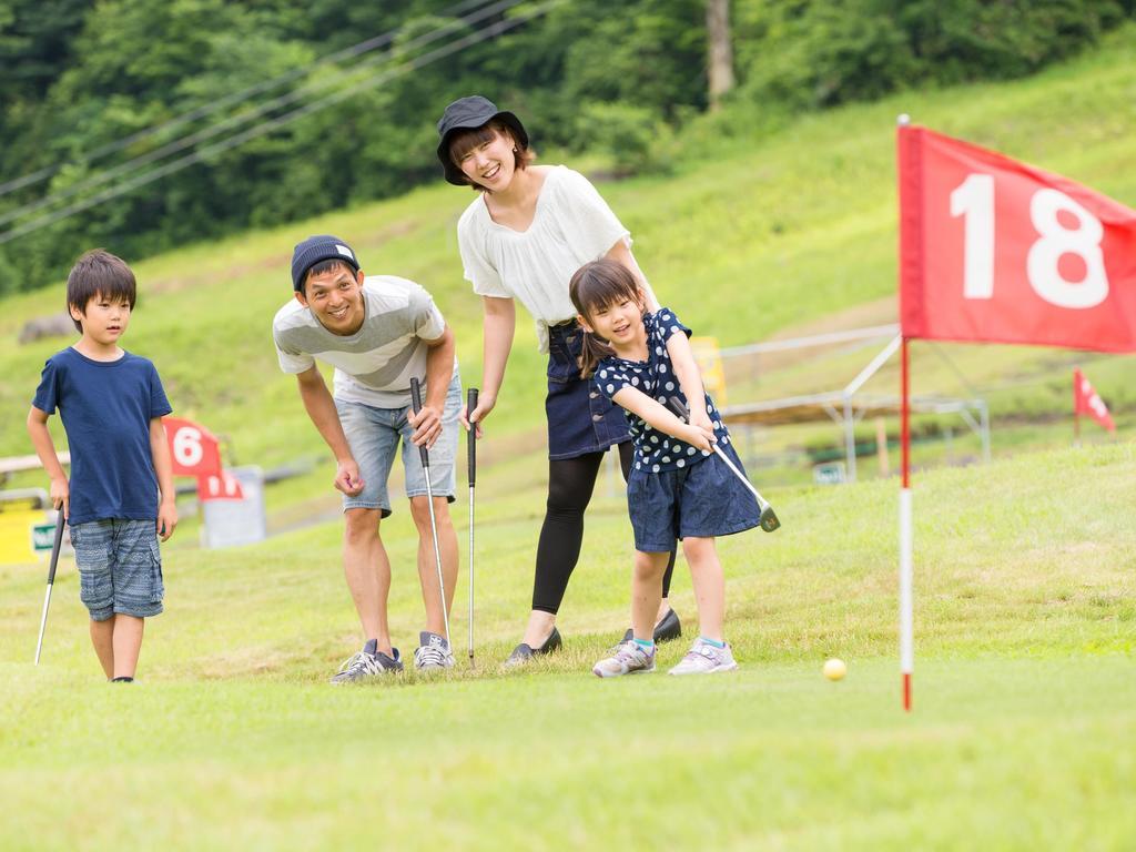 家族みんなで楽しめるパターゴルフ♪