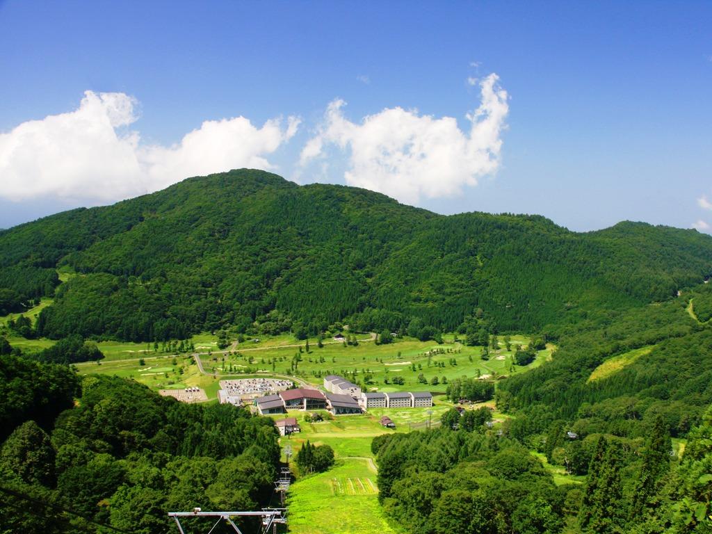 大自然に囲まれたタングラム東急リゾート
