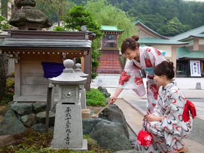 山中温泉総湯「菊の湯」入浴券付♪