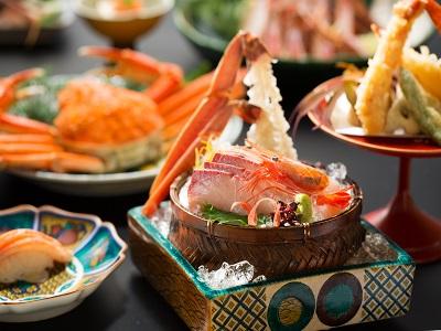 【ズワイ蟹会席×ひとり旅】ズワイ蟹を会席で楽しむ贅沢ご褒美旅♪