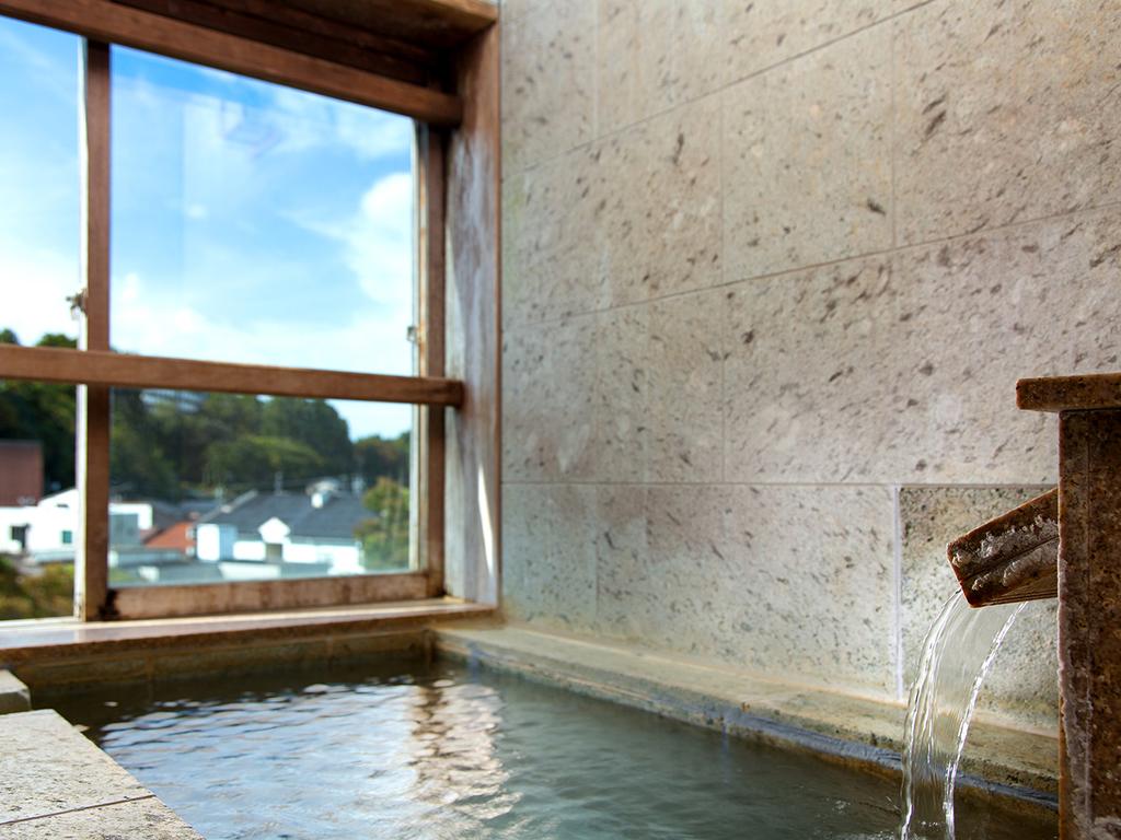 客室【雅】露天風呂一例