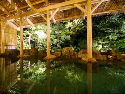 天然温泉、木漏れ日、清流を抜ける風…全てを体感する贅沢