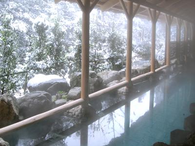 白鳥の湯<露天風呂>